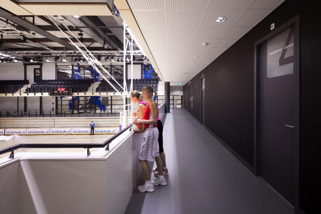 Desarc-namens-Landstede Sportcentrum ontwerpconcept